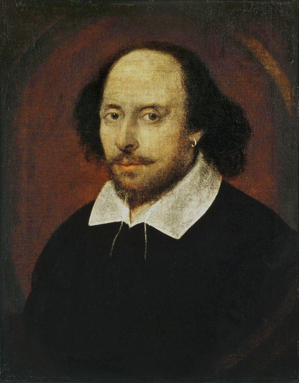 William Shakespeare. Credit: Public Domain