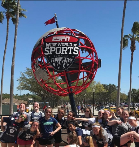 Snowstorm Doesn't Stop Lacrosse Team from Fun in the Sun
