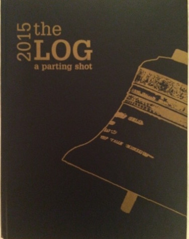 The cover of The Log from the school year 2014-2015; photo by Abbie Foster