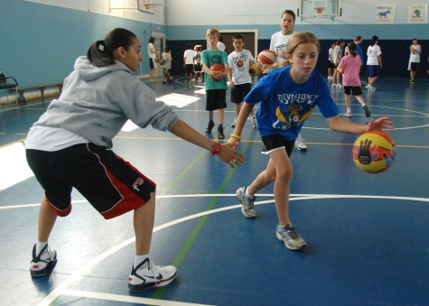 Basketball is one of the most played sports by kids along with soccer and baseball.
