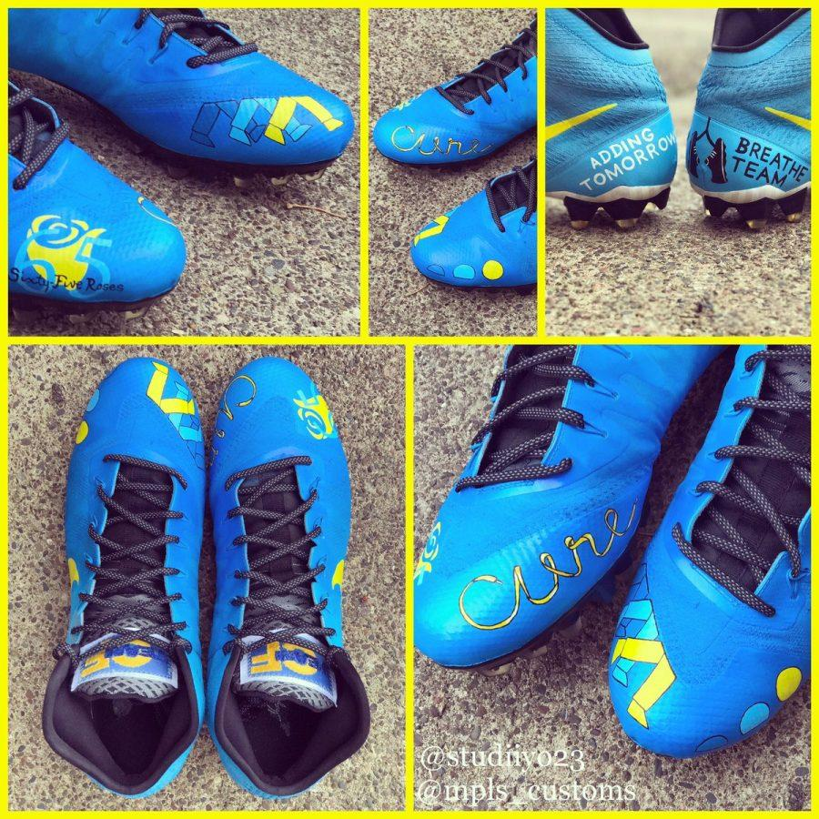 NFL Players Sport Special Cleats for Charity – The
