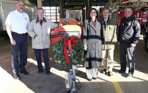 Williston Helps Keep Easthampton Rescue Personnel Afloat with Boat Donation