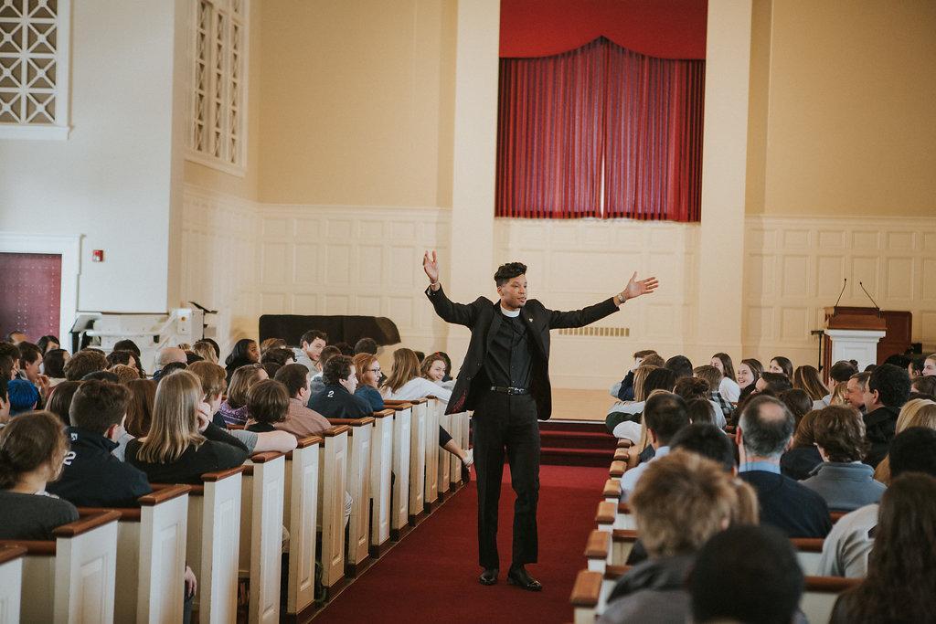 Rev. Erik Taylor Doctor. Credit: Williston Flickr.