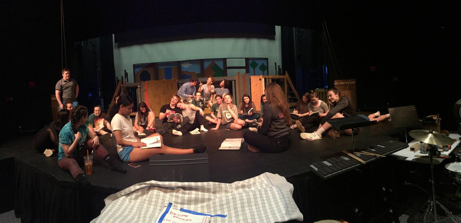 The cast of Peter and the Starcatcher.