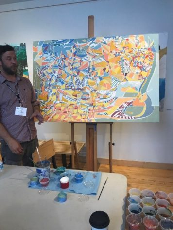 Visiting Artist Cody Rutty Leaves Lasting Mark on Campus