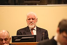 War Criminal Commits Suicide in Court