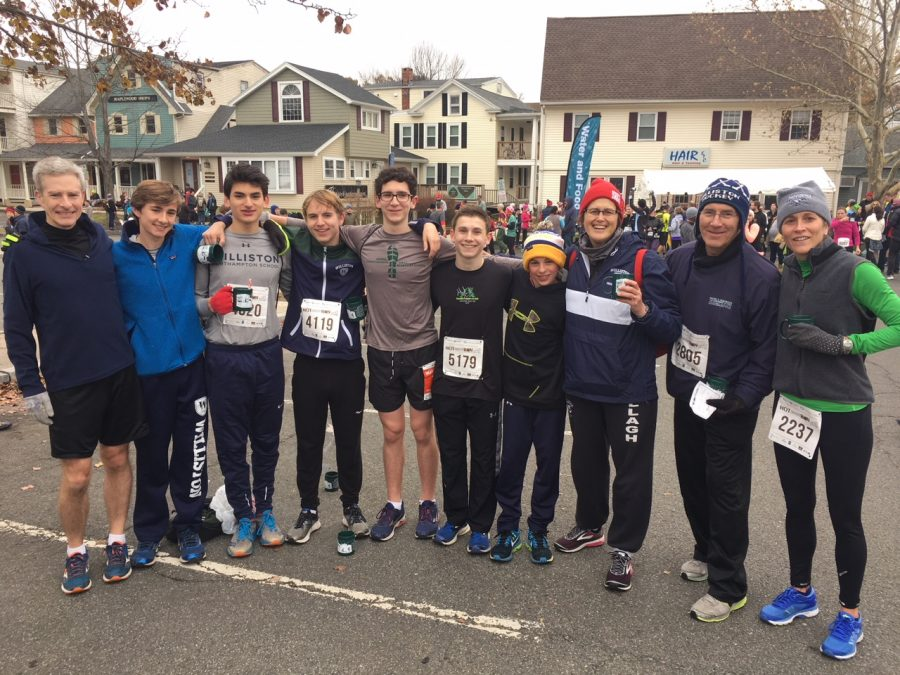 Williston Runs for Hot Chocolate and a Cause