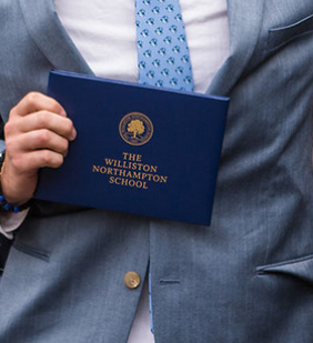 A Williston diploma. Credit: Williston Flickr