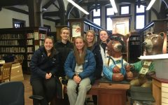 Community Service Club Restores Town Library