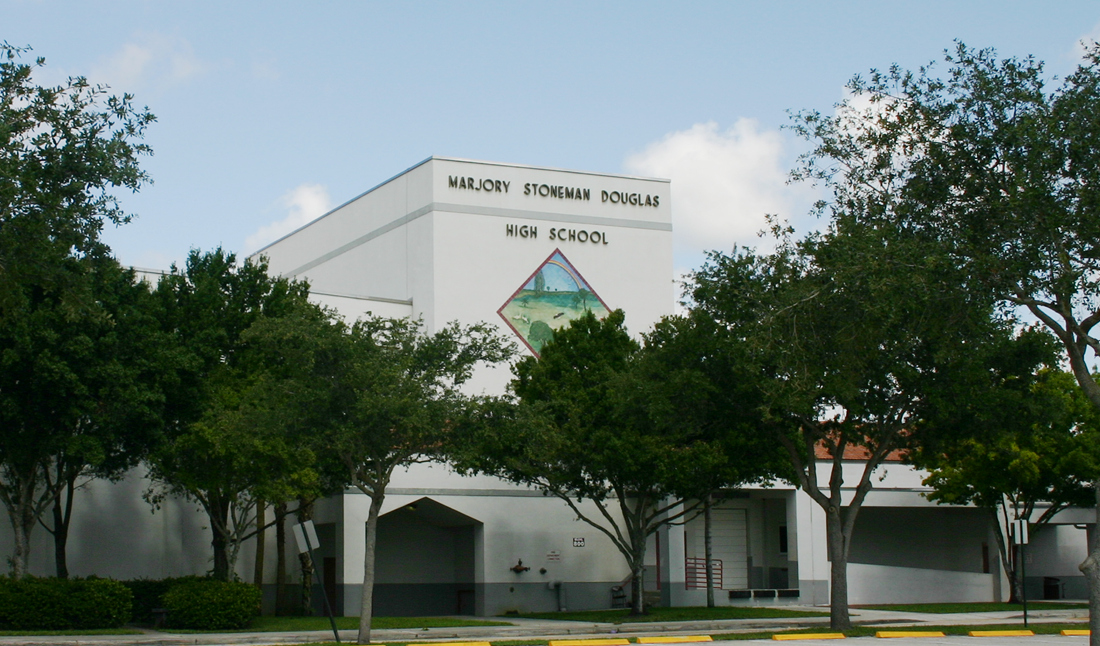 Marjory Stoneman Doughlas High School. Credit: Public Domain.