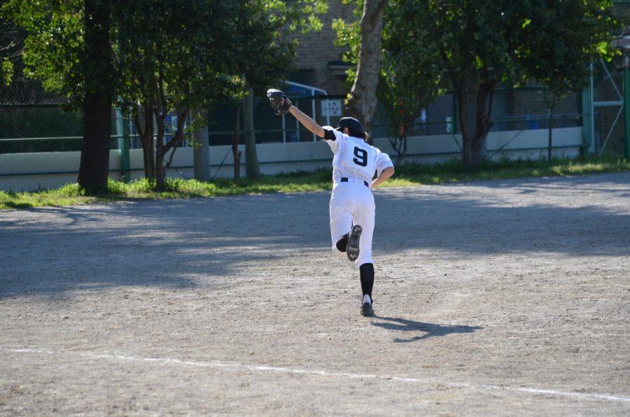 Freshman+Shoko+Ishikawa+on+the+field+in+Japan.+