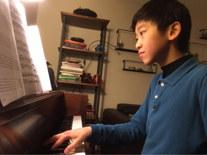 Kai practicing. Credit: Kai Paik