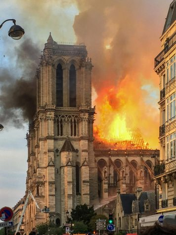 Iconic French Cathedral Burns To The Ground
