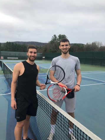 Sunday Tennis Keeps Ford Boys Bonding