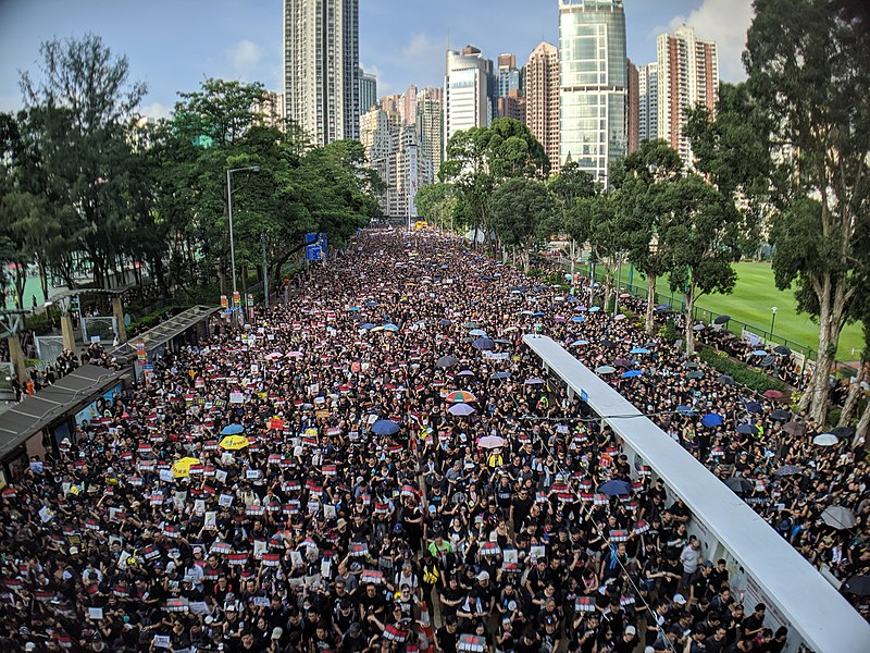 Violent+Protests+in+Hong+Kong+Continue