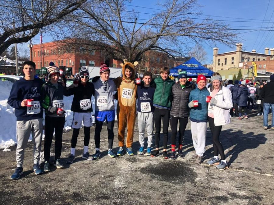 Williston+students+participating+in+the+%22Hot+Chocolate+Run.%22