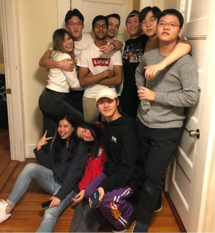 A tight-knit group of Wildcats got together over their first college break.