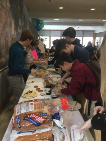 Sandwich Making Raises Awareness about Food Insecurity