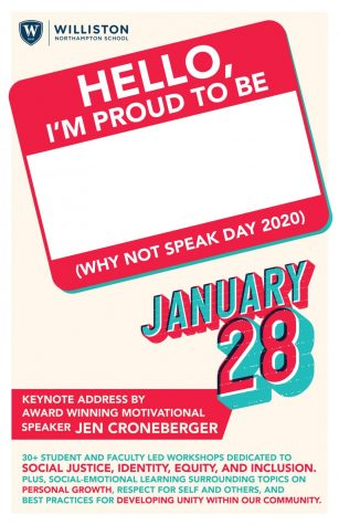 Why Not Speak Day to Address Tough Social Topics