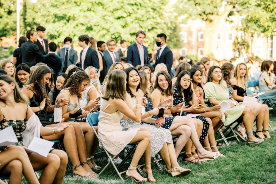 School Year Kicks Off With In-Person Convocation