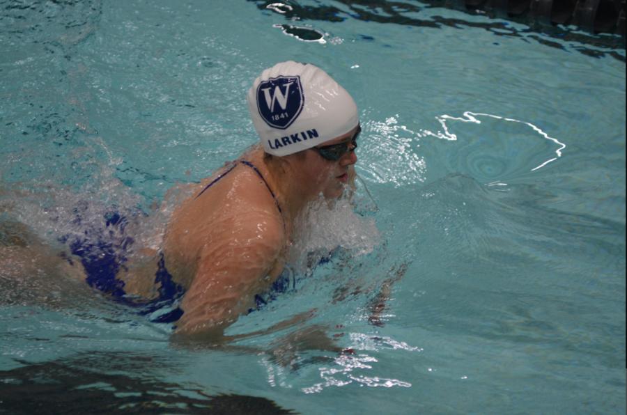 Ava Larkin Poised for Swimming Success
